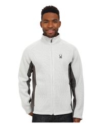 Spyder | Multicolor Foremost Full Zip Heavy Weight Core Sweater for Men | Lyst