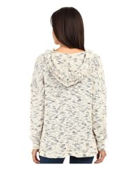 LNA - White Todos Knitted Hoodie - Lyst