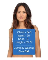 Vince Camuto - Blue Shore Side Underwire Bra W/ Soft Cups And Removable Straps - Lyst