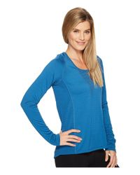 Nike - Blue Zonal Cooling Relay Long Sleeve Running Top - Lyst