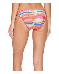 Luli Fama - Multicolor Bellamar Full Ruched Back Tie Side Bottom - Lyst