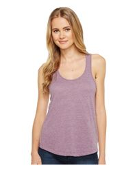 Alternative Apparel - Purple Vintage 50/50 Backstage Tank Top - Lyst
