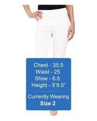 Miraclebody - White Sandi Slim Jacquard Pull-on Pants - Lyst