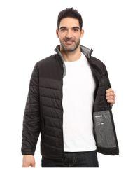 Woolrich - Black Wool Loft Insulated Jacket for Men - Lyst