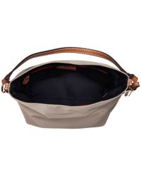 Tommy Hilfiger - Natural Julia Convertible Solid Nylon Hobo - Lyst