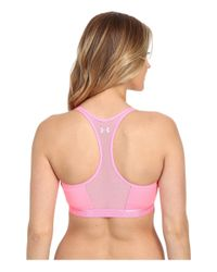 Under Armour - Pink Armour® Mid Bra - Breathe - Lyst