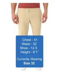 Tommy Bahama - Natural Corsica Flat Front Pants for Men - Lyst