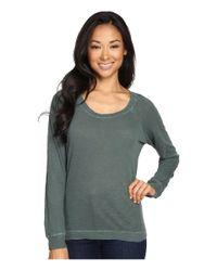 Alternative Apparel - Multicolor Washed Slub Slouchy Pullover - Lyst