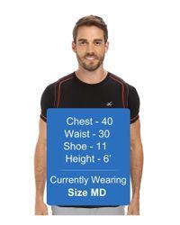 CW-X - Black S/s Ventilator Web Top for Men - Lyst