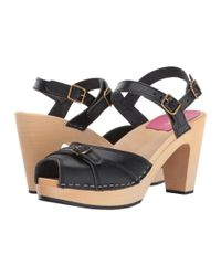 Swedish Hasbeens - Black Preppy Sky High - Lyst