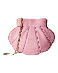 Boutique Moschino - Pink Shell Bag - Lyst
