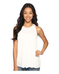 RVCA - White Label Tunic Tank Top - Lyst