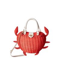 Betsey Johnson - Red Crab Calloway Crossbody - Lyst