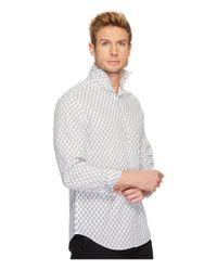 Perry Ellis - White Regular Fit Bouquet Print Stretch Shirt for Men - Lyst