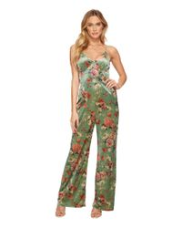 Adelyn Rae - Green Adela Jumpsuit - Lyst