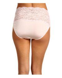 Hanky Panky - Pink Silky Skin High Rise Panty - Lyst