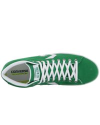 Converse - Green Pro Leather 76 Mid for Men - Lyst