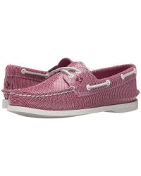 Sperry Top-Sider - Pink A/o 2 Eye Stripe Snake - Lyst
