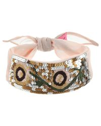 Betsey Johnson - Multicolor Opulent Outlaw Choker - Lyst