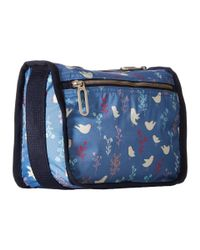 LeSportsac - Blue Everyday Cosmetic Case - Lyst