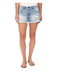 "Volcom - Blue Stoned Shorts 3"" - Lyst"