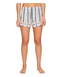 Lucky Brand - Multicolor Woven Shorty Set - Lyst
