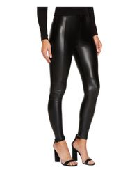 Bishop + Young - Black Vegan Leather Leggings - Lyst