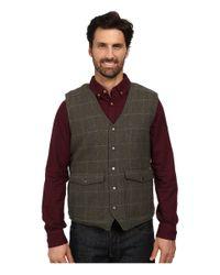 Woolrich - Gray Teton Vest for Men - Lyst