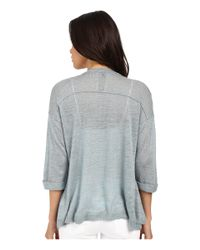 Mavi Jeans - Blue Open Front Cardigan - Lyst