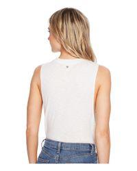 Billabong - White Just A Few Knit Top - Lyst