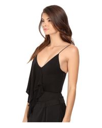StyleStalker | Black Ruvo Bodysuit | Lyst