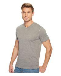 Mod-o-doc - Gray El Porto Short Sleeve V-neck Tee for Men - Lyst
