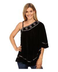 Double D Ranchwear - Black Bunuelo Poncho - Lyst