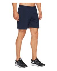 "Nike - Blue Flex 7"" Running Short for Men - Lyst"