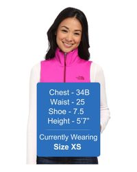 The North Face - Pink Canyonwall Vest - Lyst
