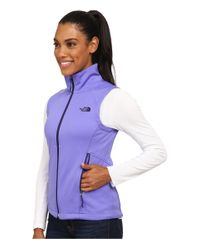 The North Face - Purple Canyonwall Vest - Lyst