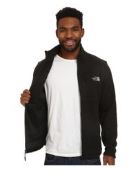 The North Face - Black Gordon Lyons Full Zip Fleece for Men - Lyst