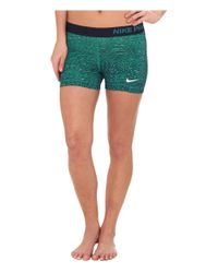 "Nike - Green Dri-fittm Pro 3"" Venom Shorts - Lyst"