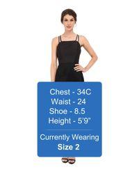 Shoshanna - Black Vera Dress - Lyst