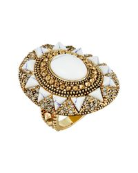 House of Harlow 1960 - Multicolor Wari Runis Cocktail Ring - Lyst