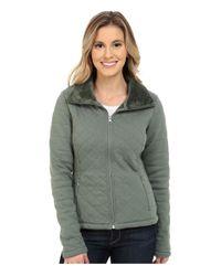 The North Face - Green Caroluna Crop Jacket - Lyst