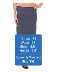 Carve Designs - Blue Mahalo Skirt - Lyst