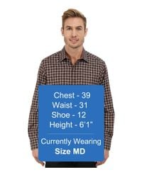 Robert Graham - Brown Waterford Long Sleeve Classic Fit Woven Shirt for Men - Lyst