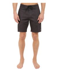 "Billabong - Black All Day Lo Tides 19"" Boardshorts for Men - Lyst"