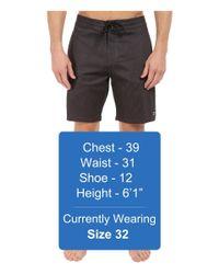 """Billabong - Black All Day Lo Tides 19"""" Boardshorts for Men - Lyst"""