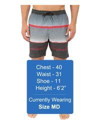 "Billabong - Black Spinner Lay Back Elastic 19"" Boardshorts for Men - Lyst"