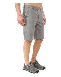 The North Face - Gray Rocky Trail Shorts for Men - Lyst