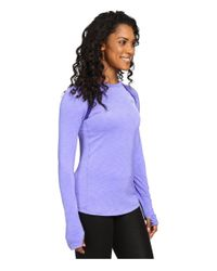 Under Armour - Purple Ua Coldgear® Armour Crew - Lyst