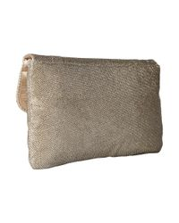 Jessica Mcclintock - Multicolor Arielle Lurex Envelope Clutch - Lyst