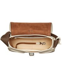 Dooney & Bourke - Natural Florentine Small Saddle Bag - Lyst